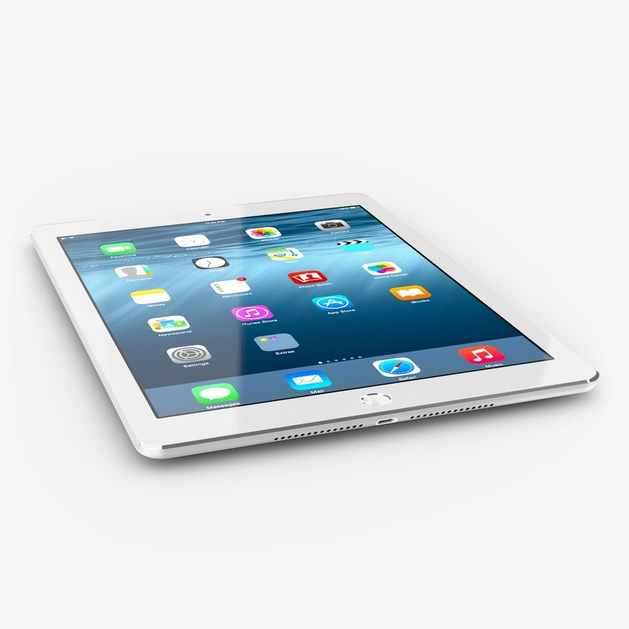 Apple iPad Air 2 royalty-free 3d model - Preview no. 2