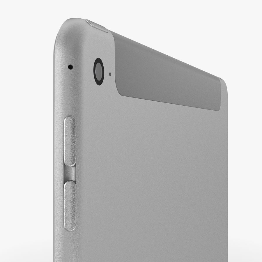 Apple iPad Air 2 royalty-free 3d model - Preview no. 25