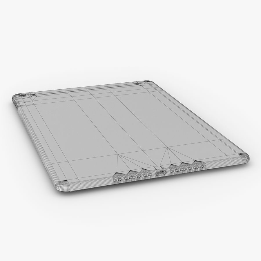 Apple iPad Air 2 royalty-free 3d model - Preview no. 30