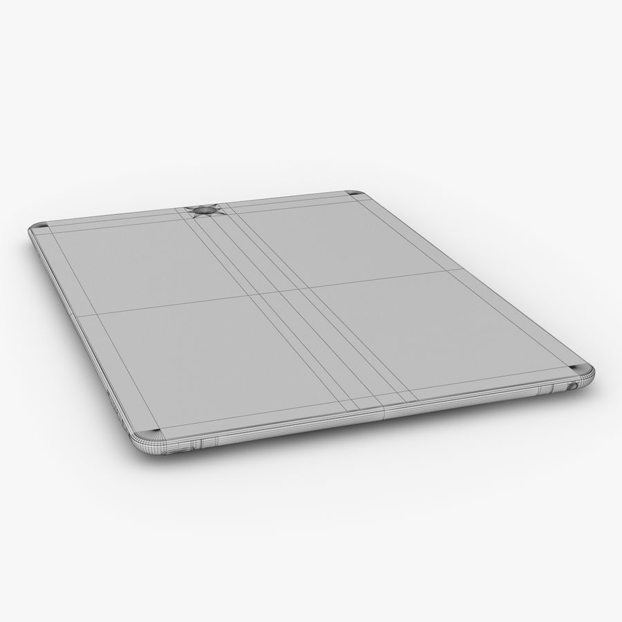 Apple iPad Air 2 royalty-free 3d model - Preview no. 28