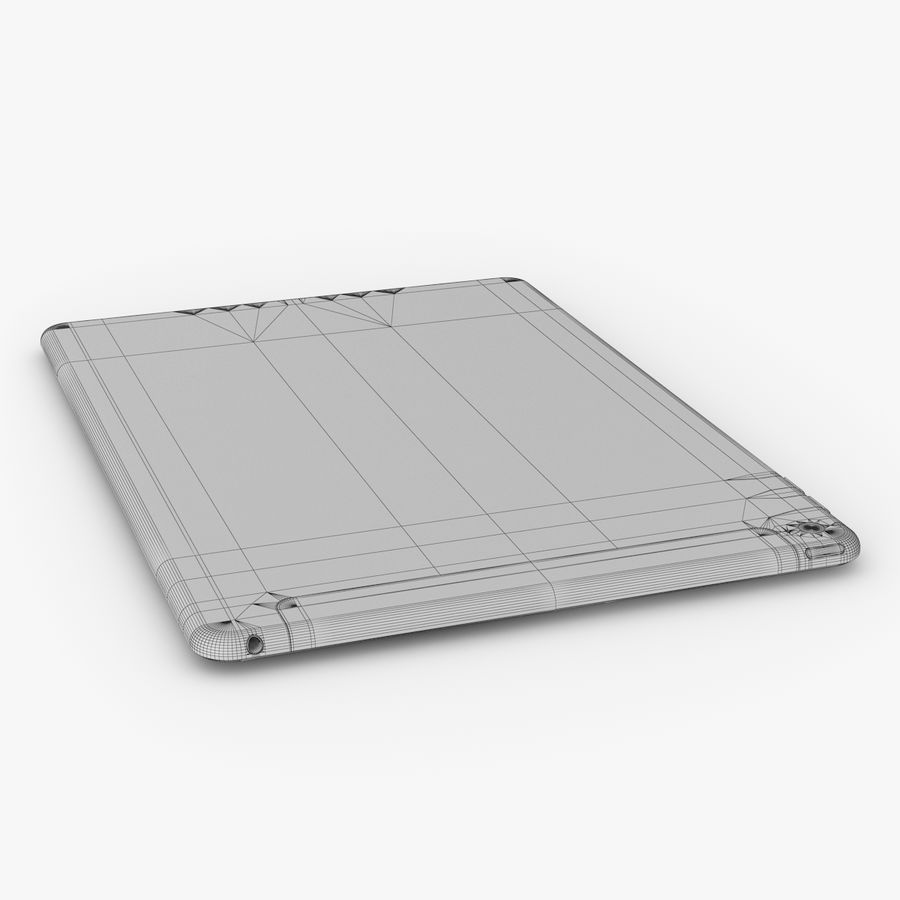 Apple iPad Air 2 royalty-free 3d model - Preview no. 29