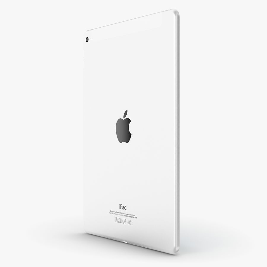 Apple iPad Air 2 royalty-free 3d model - Preview no. 14