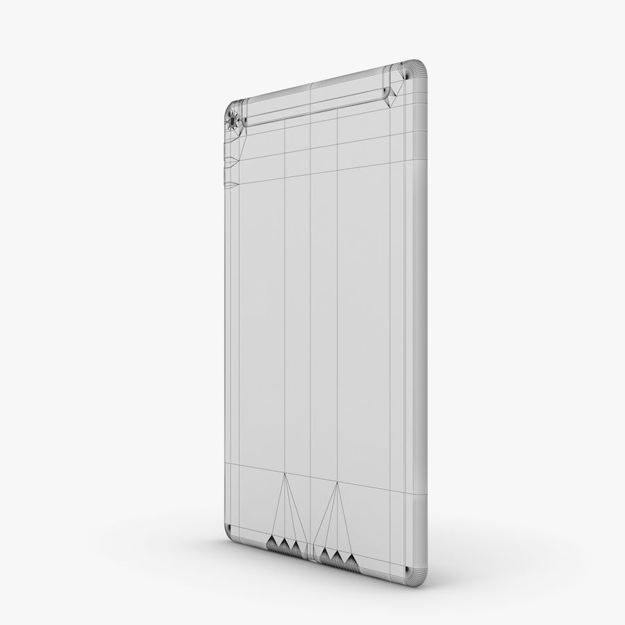 Apple iPad Air 2 royalty-free 3d model - Preview no. 35