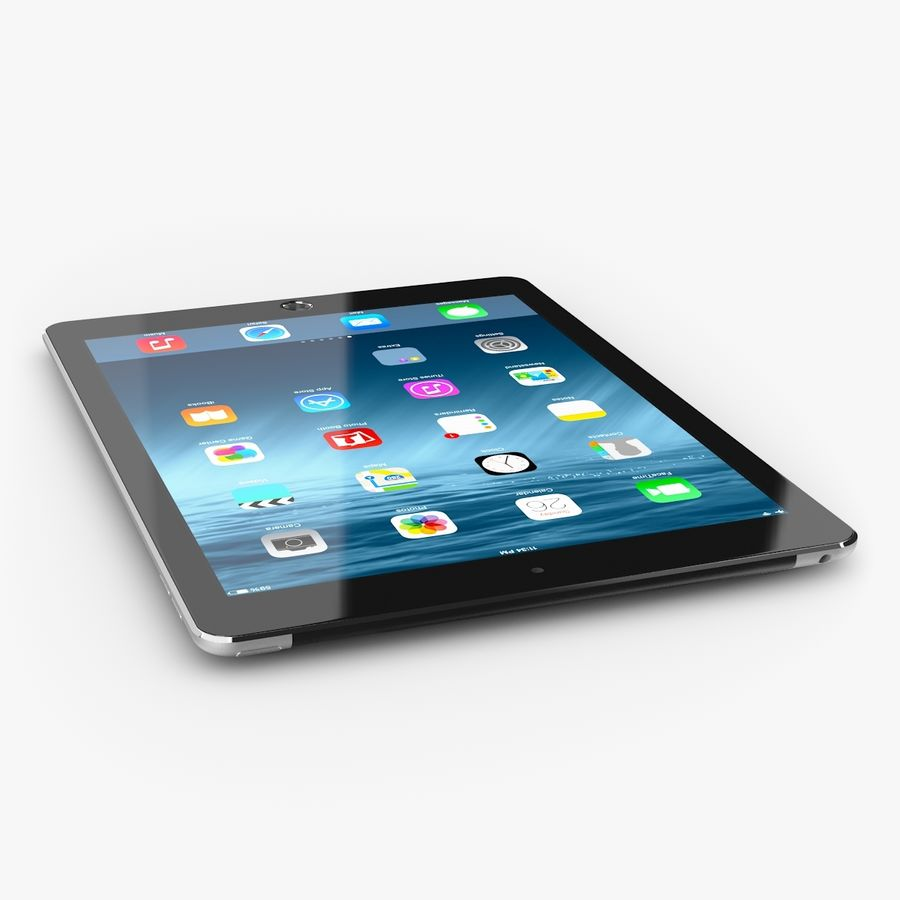 Apple iPad Air 2 royalty-free 3d model - Preview no. 7