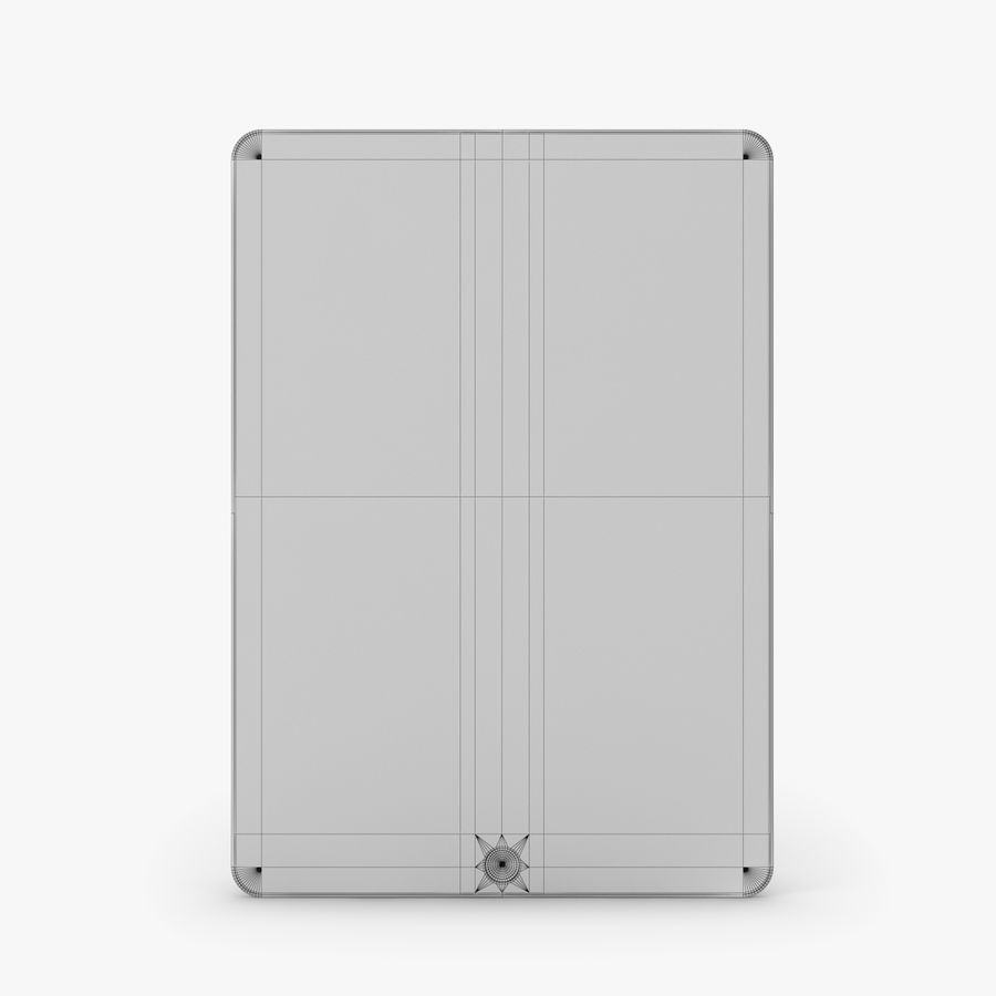 Apple iPad Air 2 royalty-free 3d model - Preview no. 33