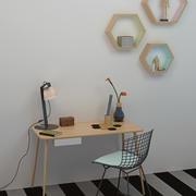 Büro Dekorasyonu 3d model