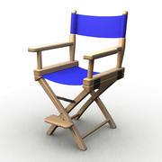 만화 감독 의자 3d model