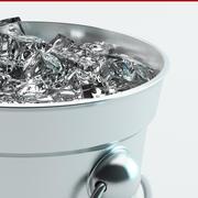 secchio di ghiaccio 3d model