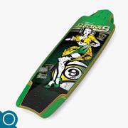 Tiffany Longboard 3d model