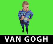 van Gogh 3d model