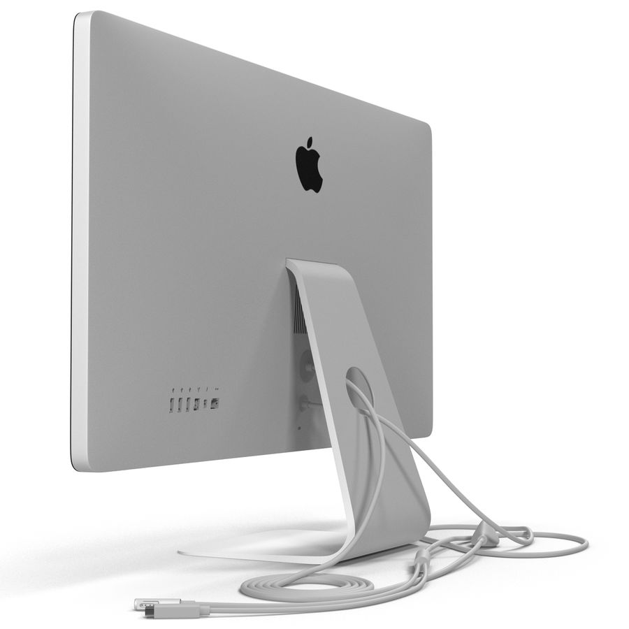 Apple Thunderbolt Display 3D Model royalty-free 3d model - Preview no. 12