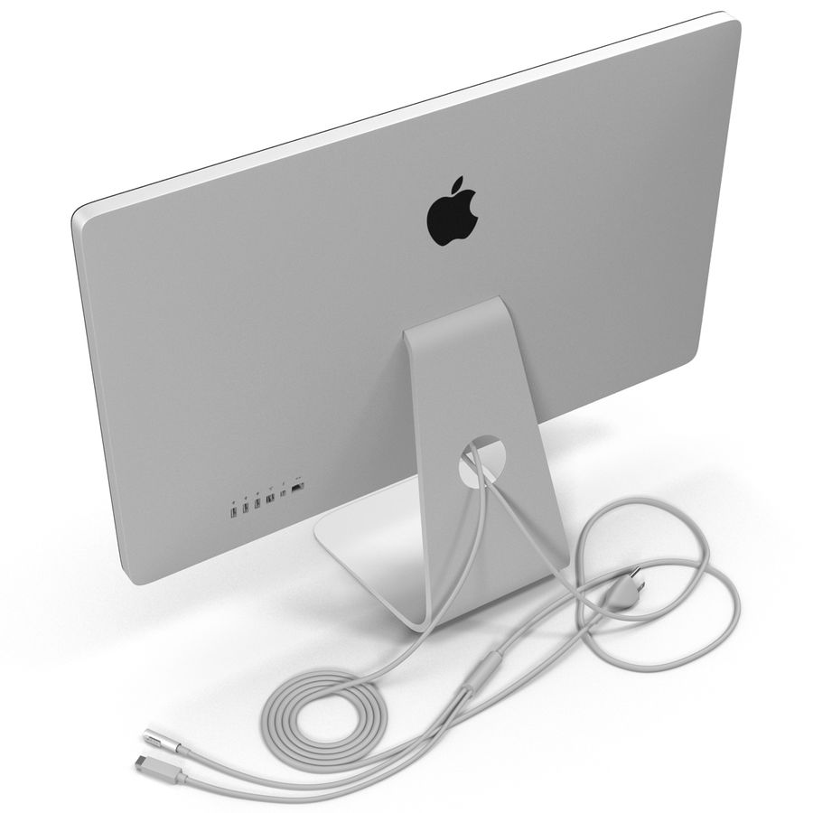 Apple Thunderbolt Display 3D Model royalty-free 3d model - Preview no. 11