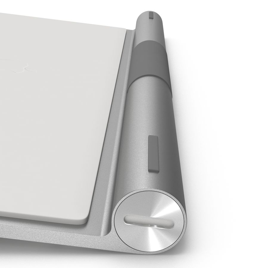 Apple Wireless Keyboard 3D 모델 royalty-free 3d model - Preview no. 14