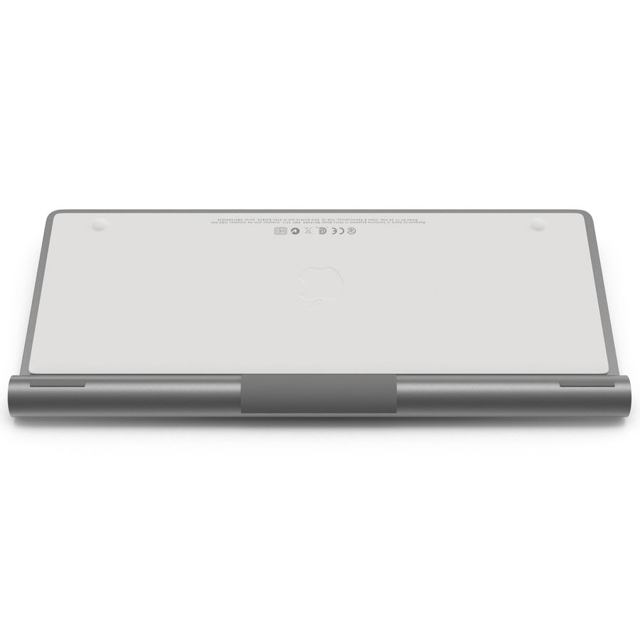 Apple Wireless Keyboard 3D 모델 royalty-free 3d model - Preview no. 13