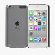 iPod Touch Srebrny model 3D 3d model