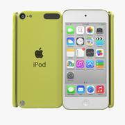 iPod Touch Yellow Modello 3D 3d model