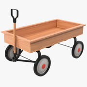 Childs Wagon 3D Model 3d model