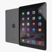iPad Air 2 Space Gray 2 3D模型 3d model