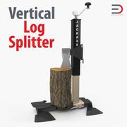 Вертикальный разделитель бревен 3d model