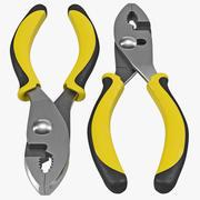 Slip Joint Plier 3d model