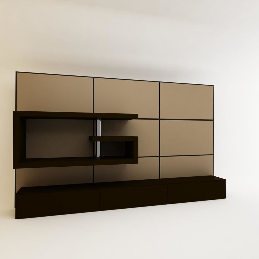 Collections de meubles royalty-free 3d model - Preview no. 88