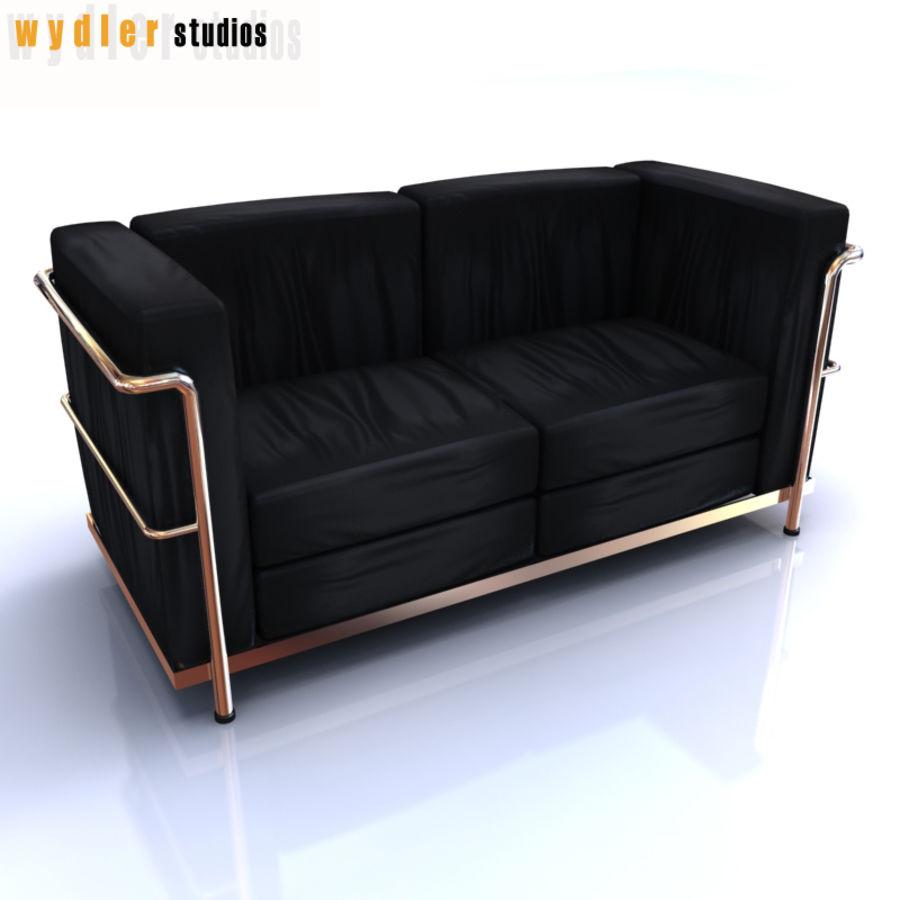 Collections de meubles royalty-free 3d model - Preview no. 8
