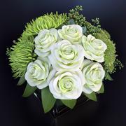 Bouquet green fantasy 3d model