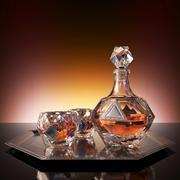 Ställ in för whisky HAVANA 3d model