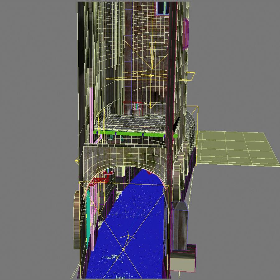Calle vieja de la ciudad royalty-free modelo 3d - Preview no. 5