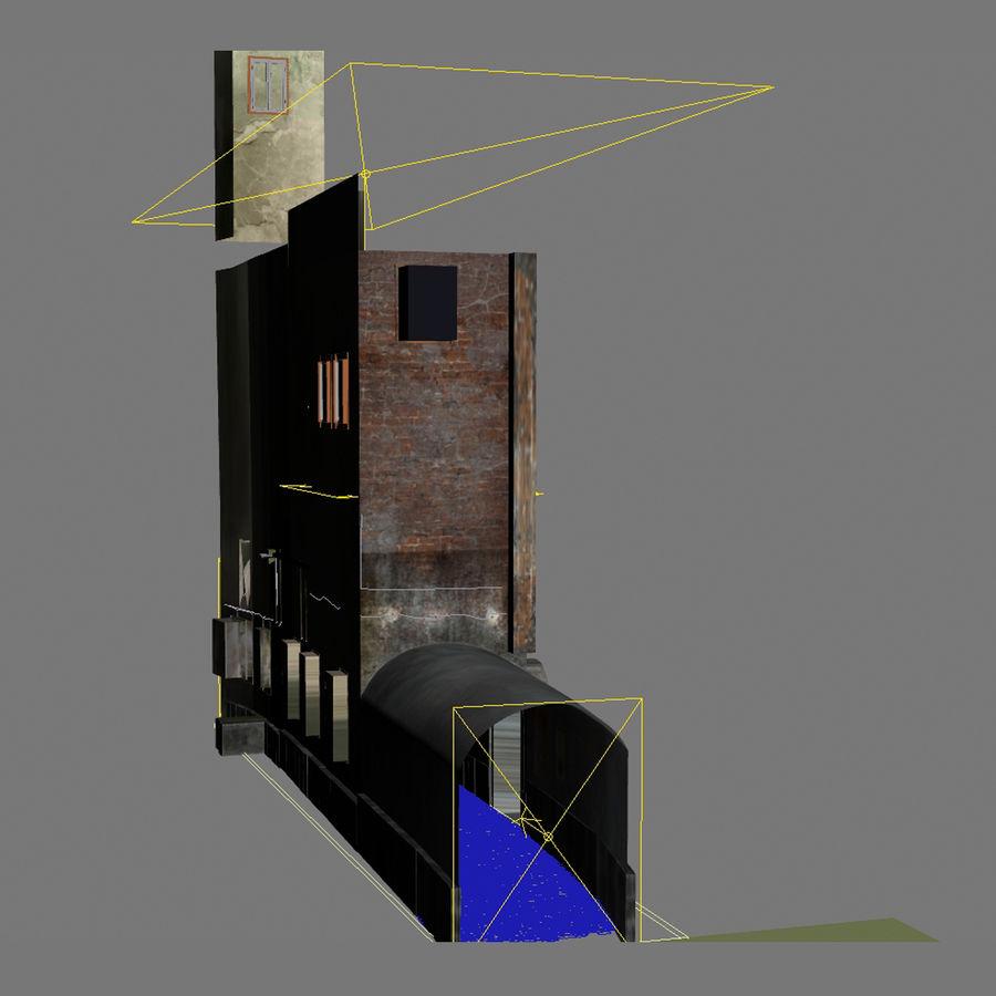Calle vieja de la ciudad royalty-free modelo 3d - Preview no. 4