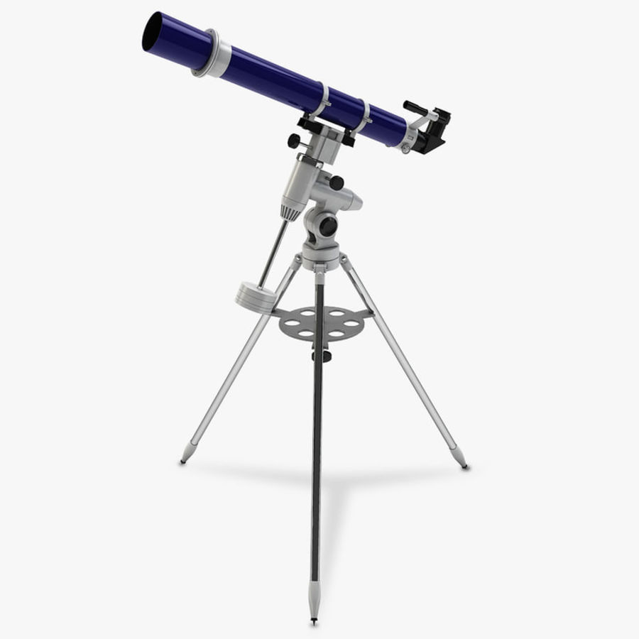 Telescope royalty-free 3d model - Preview no. 1