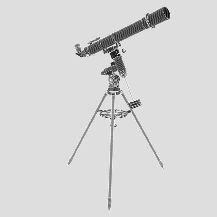 Telescope royalty-free 3d model - Preview no. 9