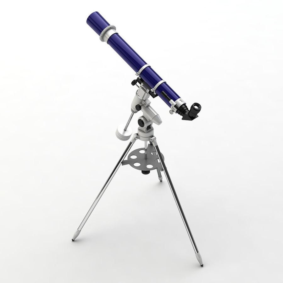 Telescope royalty-free 3d model - Preview no. 3