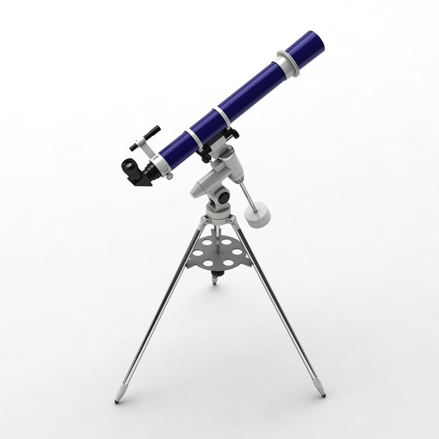 Telescope royalty-free 3d model - Preview no. 4