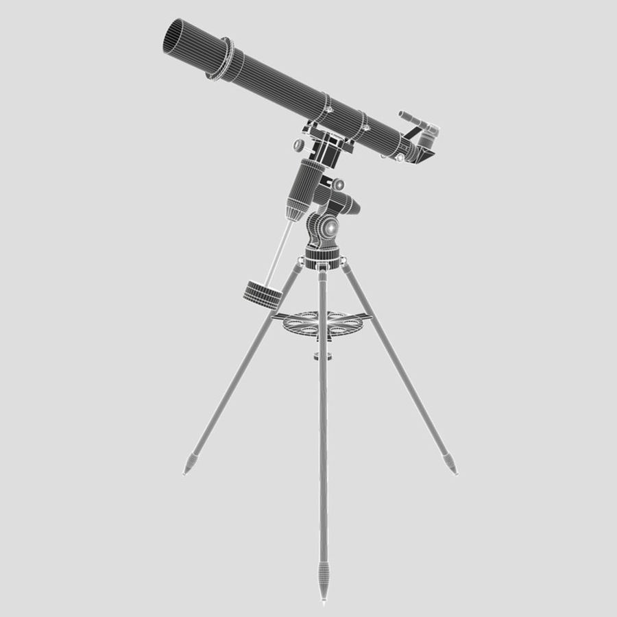 Telescope royalty-free 3d model - Preview no. 8