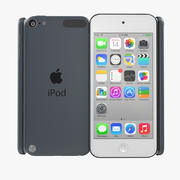 iPod Touch Space Grey 3d model