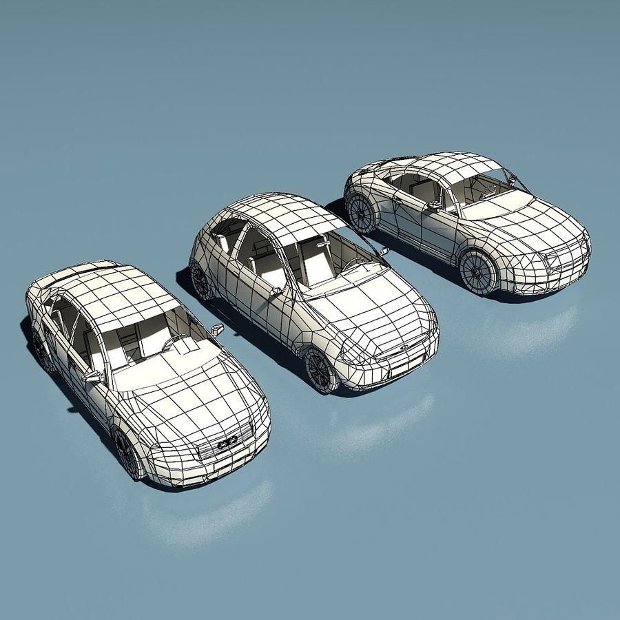 低聚汽车 royalty-free 3d model - Preview no. 3