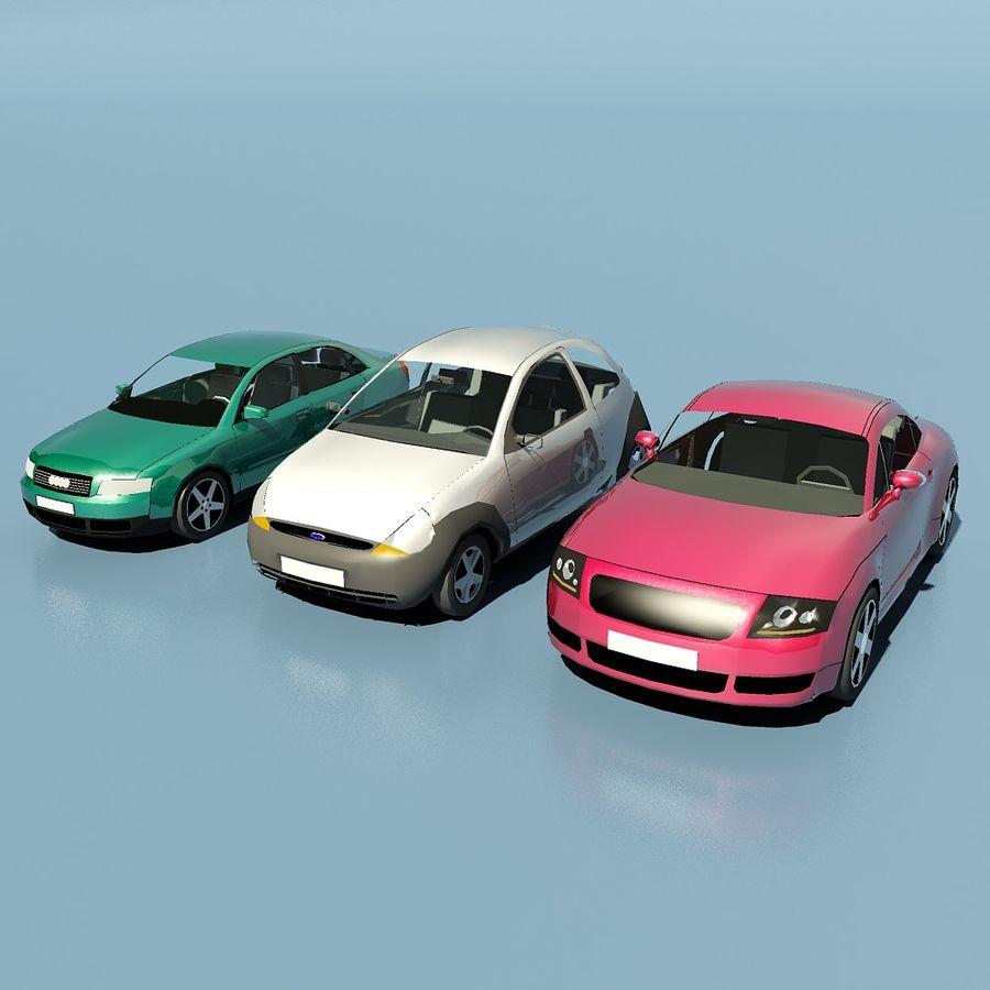 低聚汽车 royalty-free 3d model - Preview no. 4