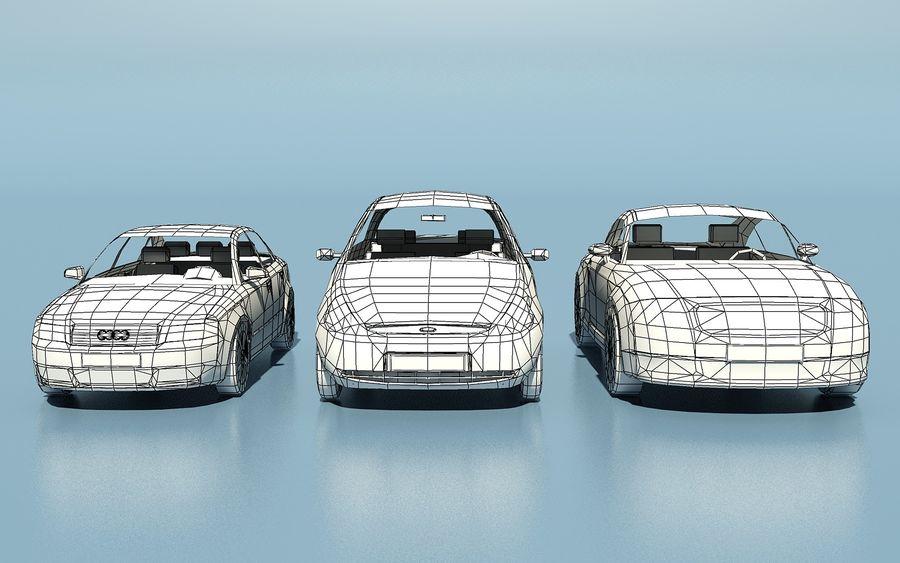 低聚汽车 royalty-free 3d model - Preview no. 10