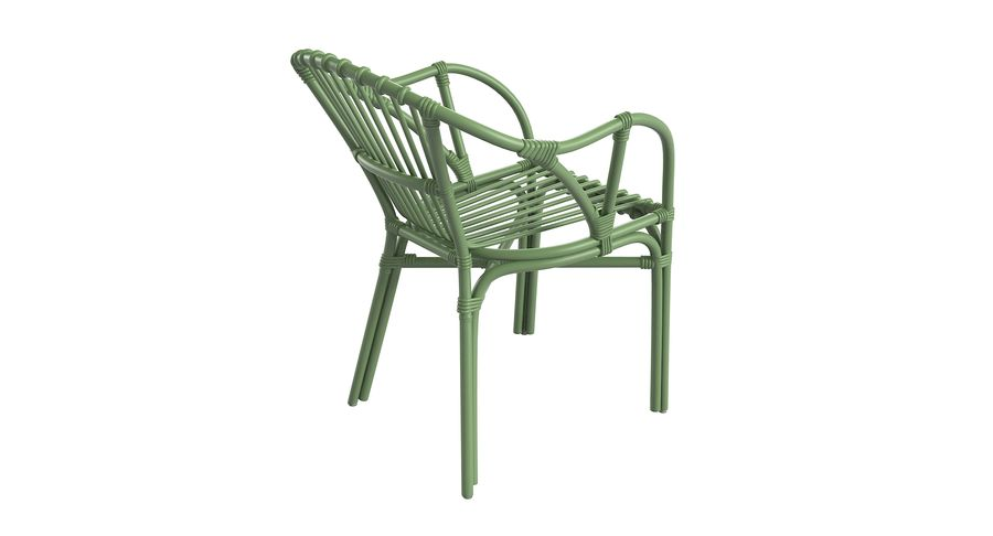 Ikea Holmsel Outdoor Dining Chair 3d Model 26 Obj Fbx Max Free3d