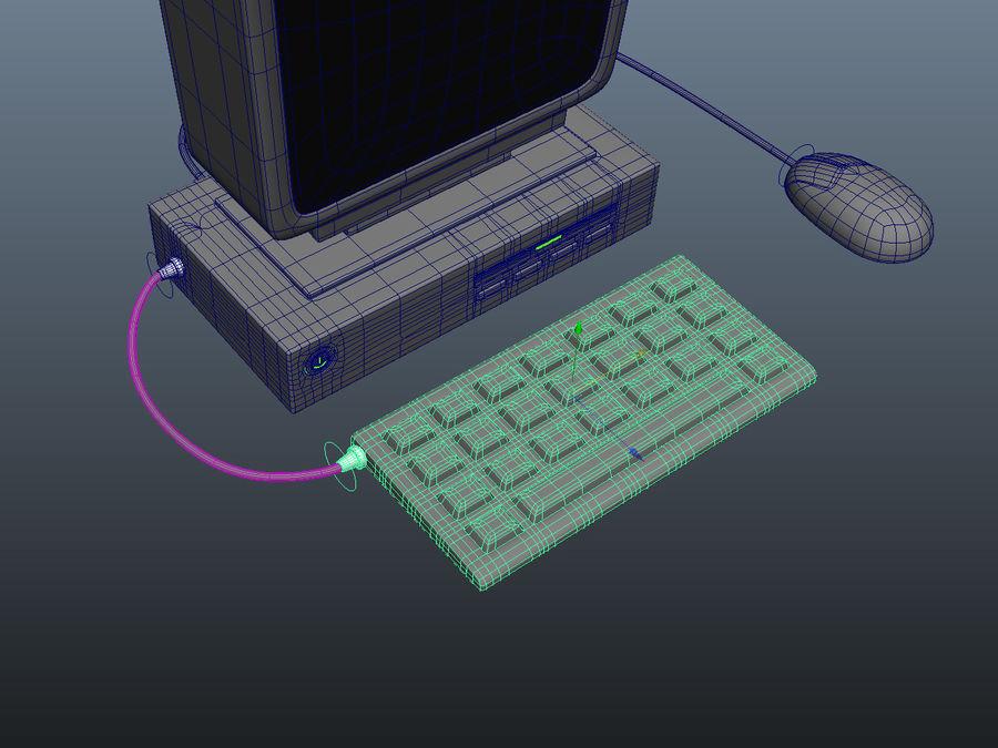 karikatür bilgisayar bilgisayarı royalty-free 3d model - Preview no. 13