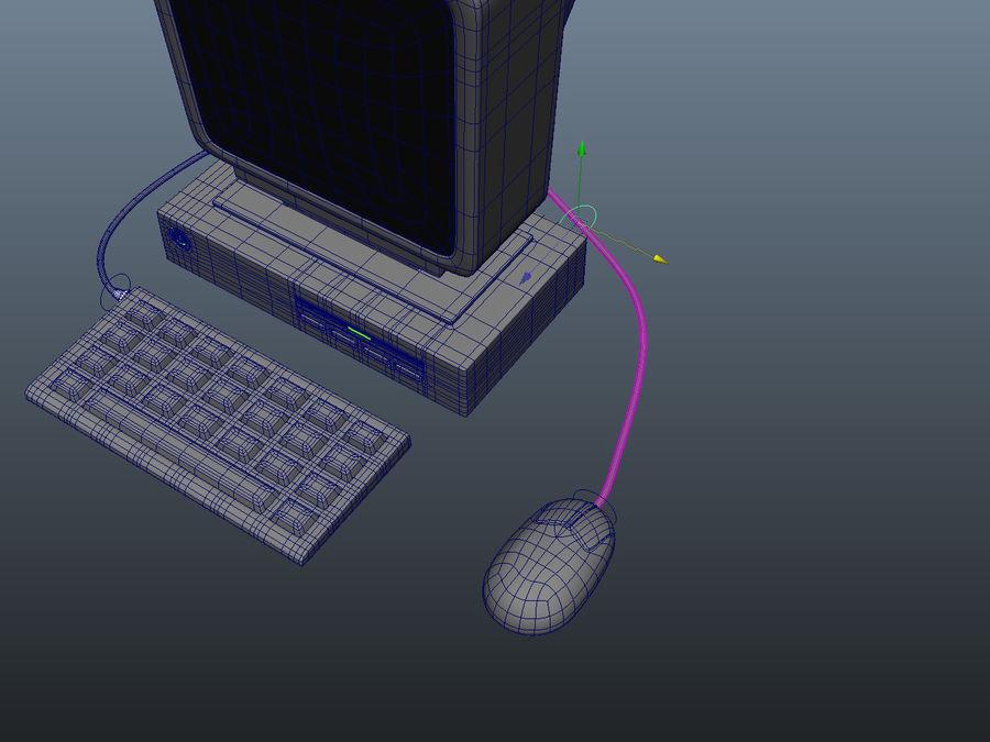 karikatür bilgisayar bilgisayarı royalty-free 3d model - Preview no. 12