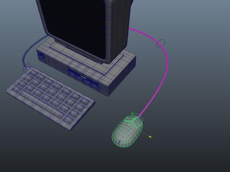 karikatür bilgisayar bilgisayarı royalty-free 3d model - Preview no. 10