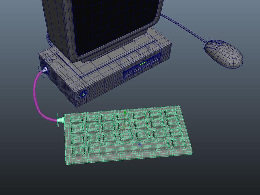 karikatür bilgisayar bilgisayarı royalty-free 3d model - Preview no. 14