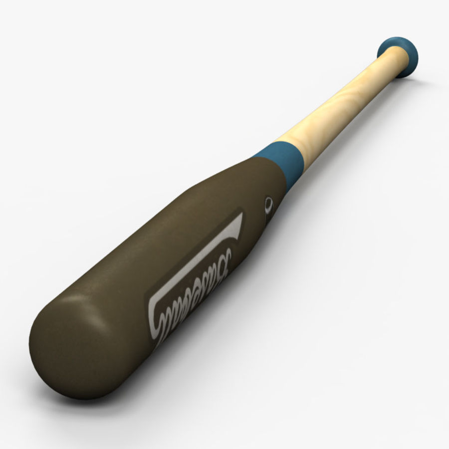 Baseball Bat royalty-free 3d model - Preview no. 5