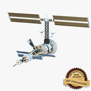 Satellite Communication 3d model