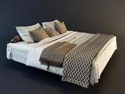 Gerçekçi yatak örtüsü 3d model