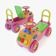 おもちゃの車 3d model