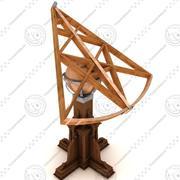 sextante modelo 3d