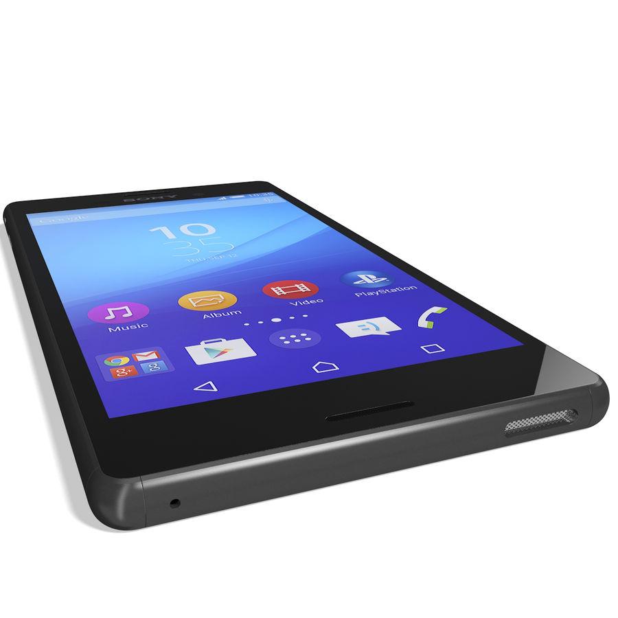 Sony Xperia M4 Aqua Black royalty-free 3d model - Preview no. 13
